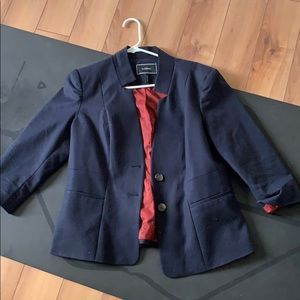 Le chateau Navy blue blazer fitted large